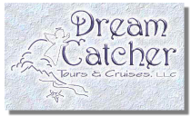 Dream Catcher Tours & Cruises, LLC logo graphic.
